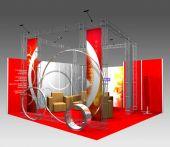 Выставочный стенд: Компания СПЕКТР (дизайн РА АрБайт)
