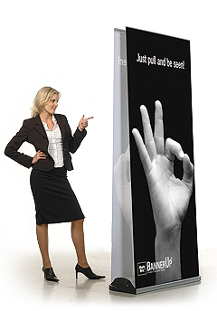 RollUp BannerUp Double Plus