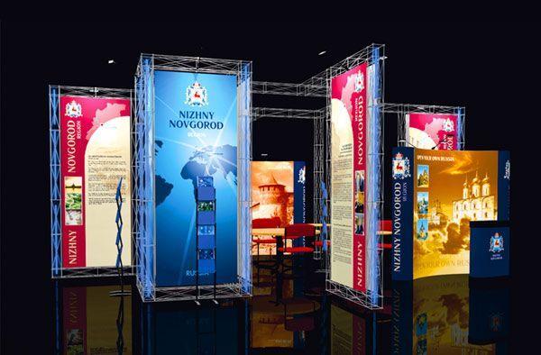 Выставочный стенд на конструкторе Призма