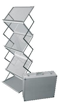 Мобильная стойка для буклетов M-holder формата А3