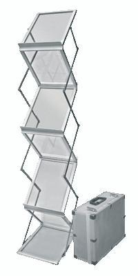 Мобильная стойка для буклетов M-holder формата А4